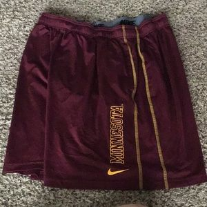 Nike Minnesota Gophers Shorts